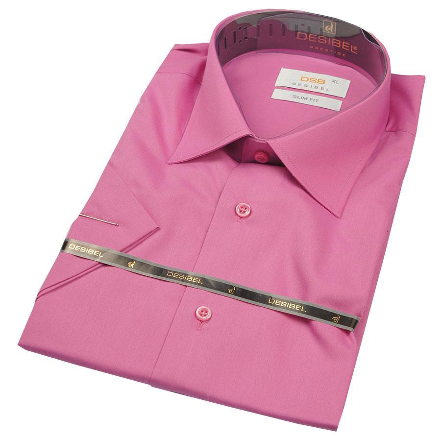 Рубашка Negredo 26127 Slim малиновая