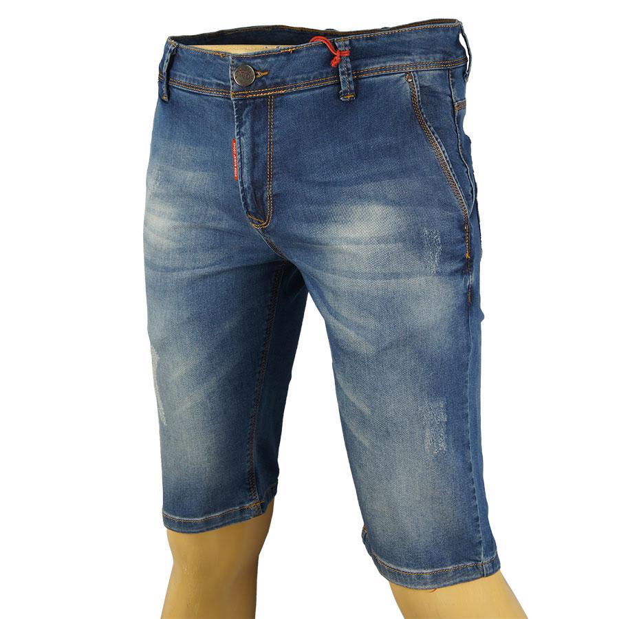 Джинсові шорти X-Foot 4048-4675 Blue