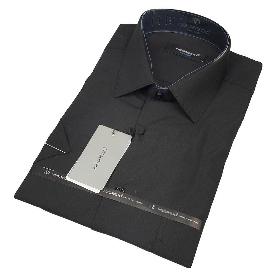 Рубашка Negredo BLACK Classic черная