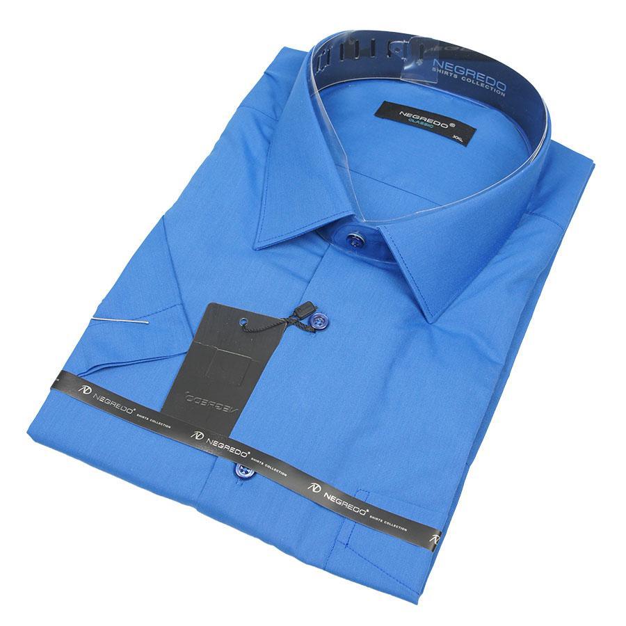 Рубашка Negredo 30320 Classic синяя