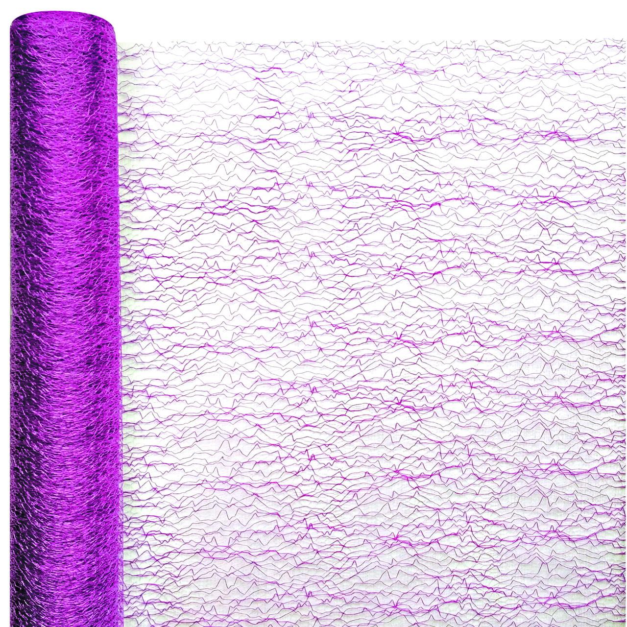 Сетка FIBER  фиолетовая 75 см х 7 м
