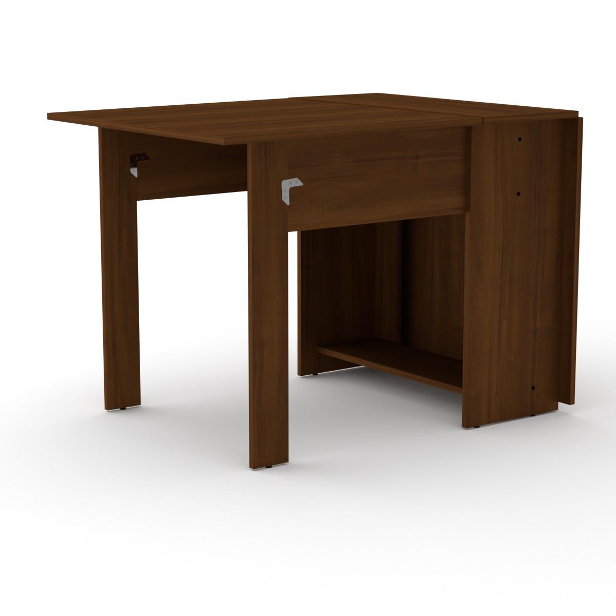 Стол книжка 1 орех экко Компанит (170х76х74 см)