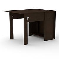 Стол книжка 1 венге темный Компанит (170х76х74 см), фото 1