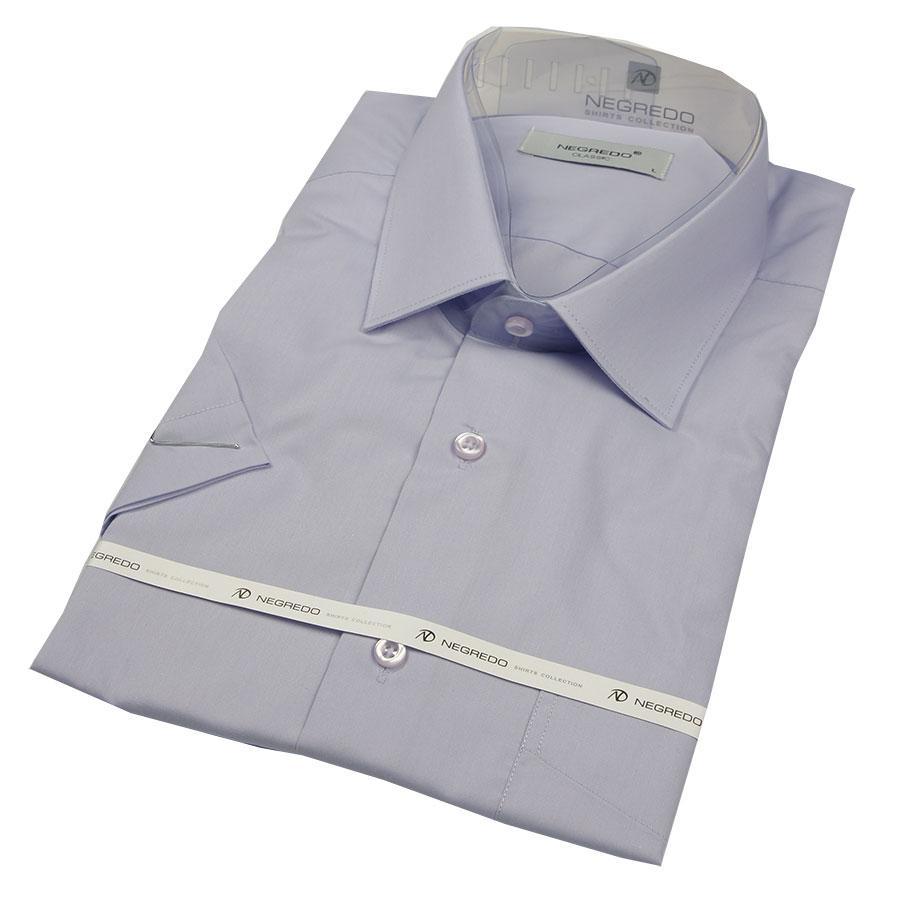 Рубашка Negredo 31000 Slim светло-серая