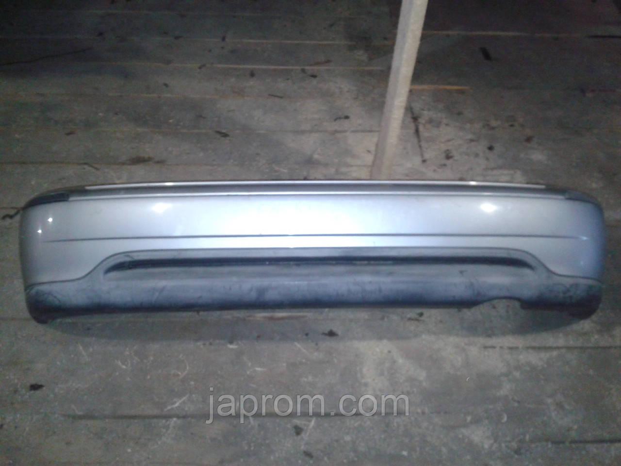 Бампер задний Nissan Micra K11 1992-2002г.в. 5дв. серебро рестайл