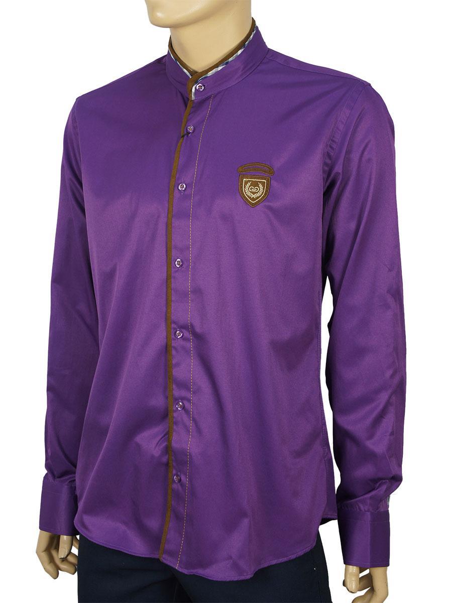 Рубашка мужская Gelix 1096-3 ст. slim