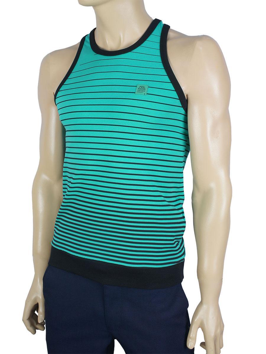 Полосатая мужская спортивная майка Maraton m-11-369 разных цветов