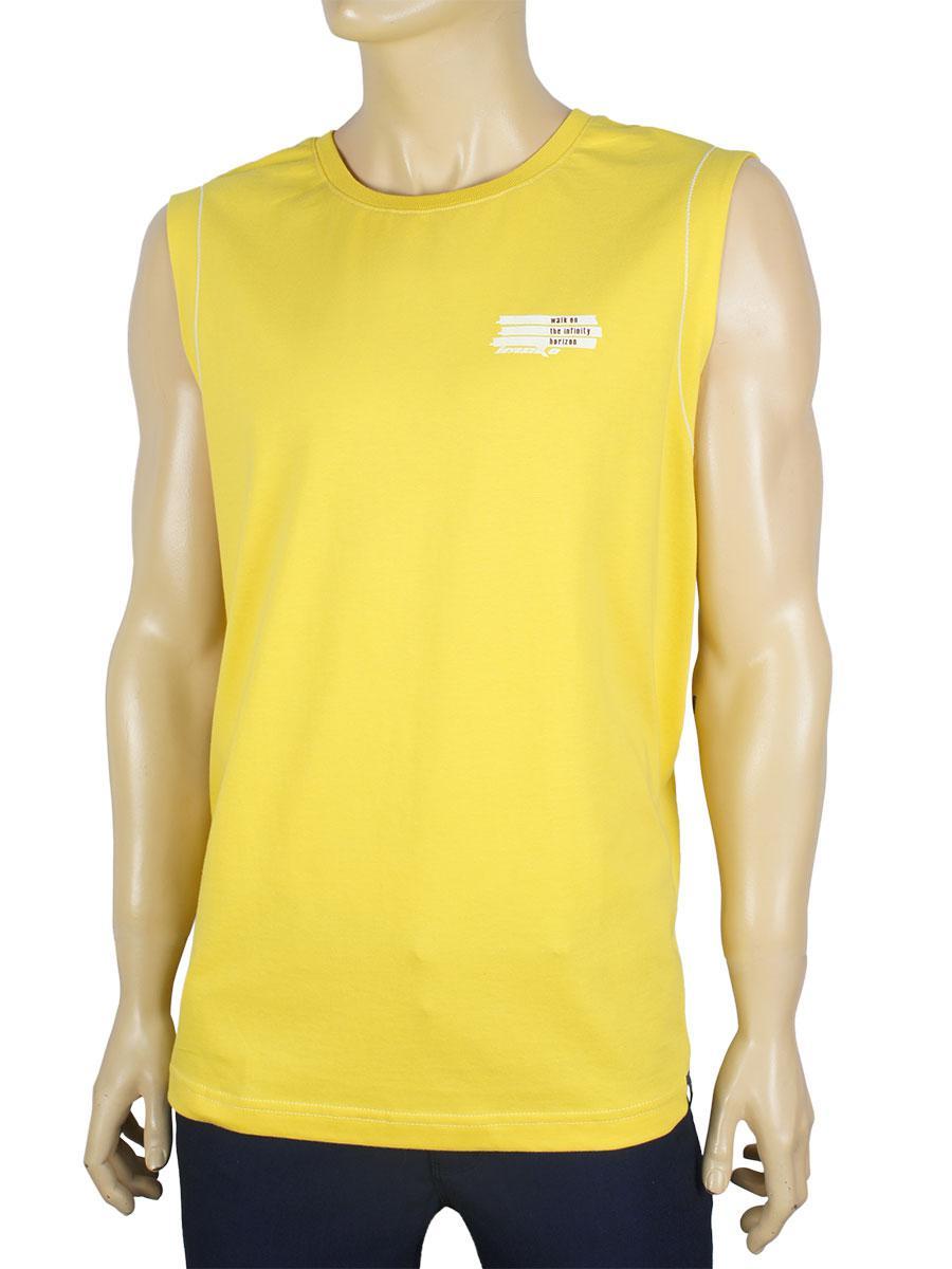 Желтая мужская безрукавка Imakо 0254