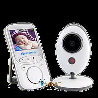 Цифровая беспроводная видеоняня VB605 с датчиком звука, температуры, и ночной подсветкой, фото 1