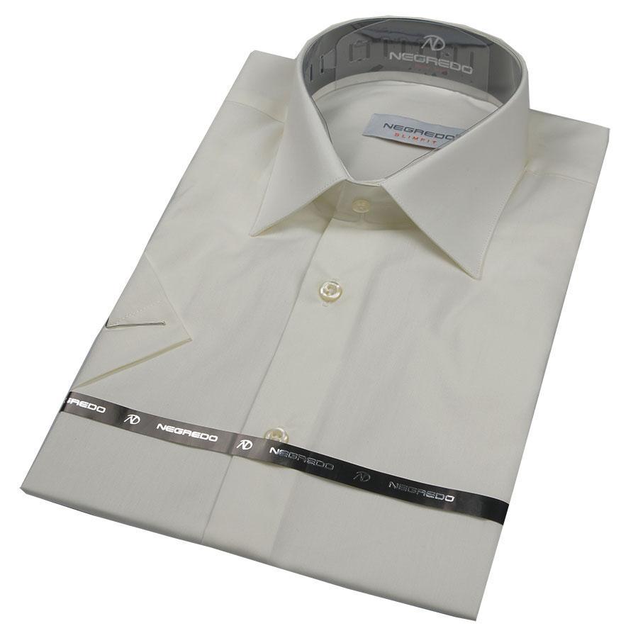 Рубашка Negredo 21008 Classic в молочном цвете