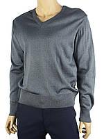 Мужской классический свитер Wool Yurt 0250 Н мис в синем цвете