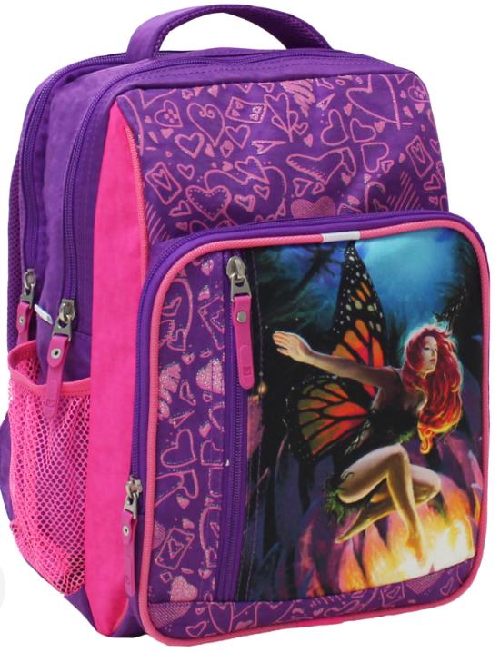 Рюкзак школьный бабочка