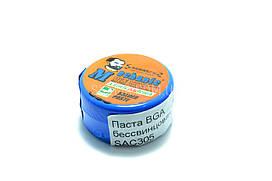 BGA паста бессвинцовая Mechanic SAC305 20г, Sn 96,5%, Ag 3%, Cu 0,5%