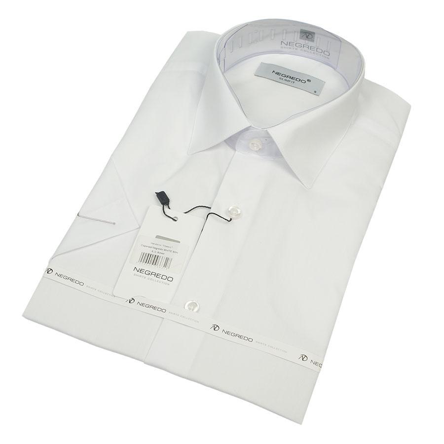 Рубашка мужская Negredo WHITE Slim