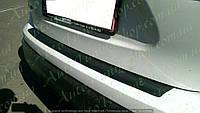 Защитная накладка на задний бампер Nissan Qashqai 2014+