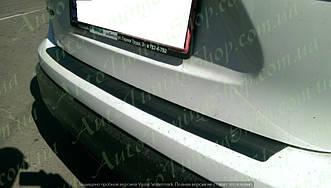 Захисна накладка на задній бампер Nissan Qashqai 2014+