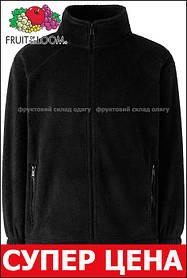 Детский тёплый флис на молнии Чёрный Full Zip Fleece Kids  62-511-36 3-4