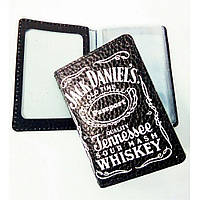 Кожаная обложка для автодокументов, ID-карты Jack Daniel's (Джек Дениелс)