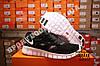 Кроссовки Nike Free Run 2.0 Black White Черные мужские, фото 2