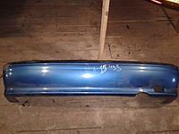 Бампер задний Nissan Almera N15 1995-2000г.в. синий дефект