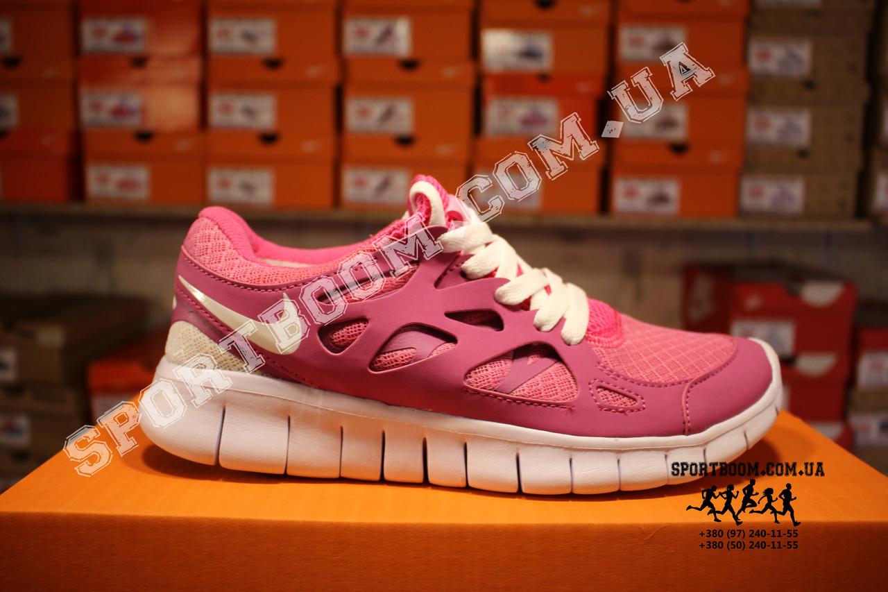 323987d4 Кроссовки Nike Free Run 2.0 Pink White Розовые женские: 999 грн ...