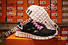 Кроссовки Nike Free Run 2.0 Black Violet Черные женские, фото 2