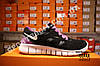 Кроссовки Nike Free Run 2.0 Black Violet Черные женские, фото 3