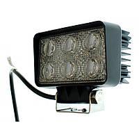 Светодиодная фара AllLight 09T-18W(t) 6chip OSRAM 3535 (тонкий радиатор)