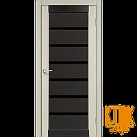 """Межкомнатная дверь коллекции """"Porto combi deluxe"""" PCD-02 (дуб беленый/венге)"""