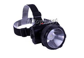 Налобный фонарик аккумуляторный Yajia YJ-1836 (с креплением)