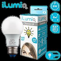 Лампа Ilumia 009 L-8-A60-E27-NW 800Лм, 8Вт, 4000К