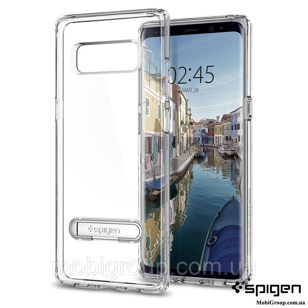 Чехол Spigen для Samsung Note 8 Ultra Hybrid S, Crystal Clear