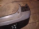 Бампер задний Mazda Premacy 1998-2005г.в. черный, фото 2