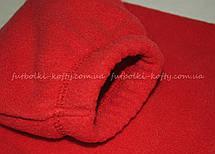 Детский тёплый флис на молнии Красный Full Zip Fleece Kids  62-511-40 9-11, фото 3