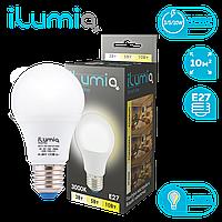 Лампа Ilumia 063 IL-10D-A60-E27-WW 1000Лм, 10Вт, Е27, 3000К, диммер.