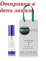 Туалетная вода для мужчин Bvlgari Aqva Pour Homme 35 мл