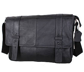 Мужская кожаная сумка PRE1862 черная