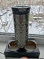 Contigo SnapSeal Kenton Travel Mugs 0,59 л, металик (1000-0500), фото 1