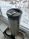 Подарунковий набір - Contigo SnapSeal Kenton Travel Mugs 0,59 л, 2 шт. (1000-0500), фото 5