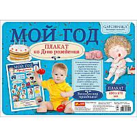 """Плакат мой первый год, Мальчик """"Гапчинская"""", 4317, 13183003Р"""