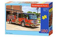 Пазл Castorland Пожарная машина 180 эл., B-018352, 006904