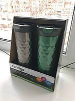 Подарочный набор - Contigo SnapSeal Kenton Travel Mugs 0,59 л, 2 шт. (1000-0500), фото 1