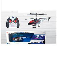 Вертолет р/у, аккумуляторный, 41см, свет, гироскоп, 3,5канала, запасные лопасти, 2цвета, F835