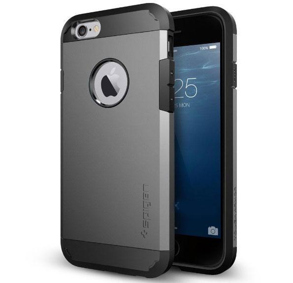 """Противоударный чехол Spigen для Apple iPhone 6 (4.7"""") Grey"""