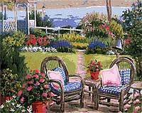 MR-Q1761 Картина раскраска Летний полдень Mariposa