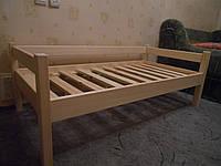 Деревянная кровать для детей и подростков  Эконом 80*160