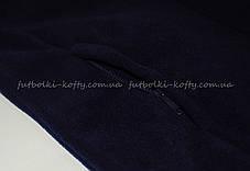 Детский тёплый флис на молнии Глубоко Тёмно -синий Full Zip Fleece Kids  62-511-AZ  14-15, фото 3