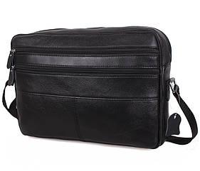 Мужская кожаная сумка BON3923-1 черная