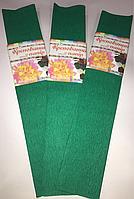 Бумага Жатая,Гофрированная Зеленая  2М\0.5М