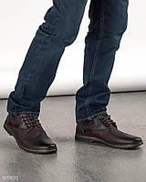 Мужские стильные туфли из искусственной кожи\ 40,42,45 размеры